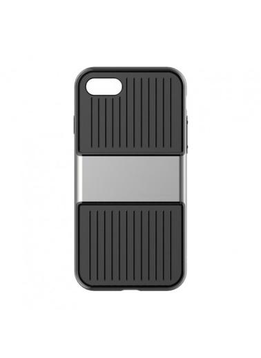Baseus Iphone 7 / 8 Plus Travel Series Case Kılıf - Gri Renkli
